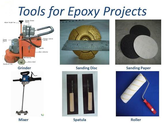 أدوات طلاء الأرضيات الايبوكسي
