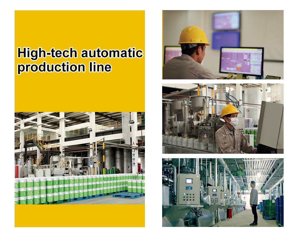 High-tech automatic production line