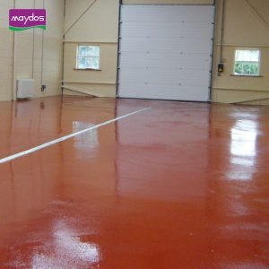 طلاء الأرضيات الايبوكسي