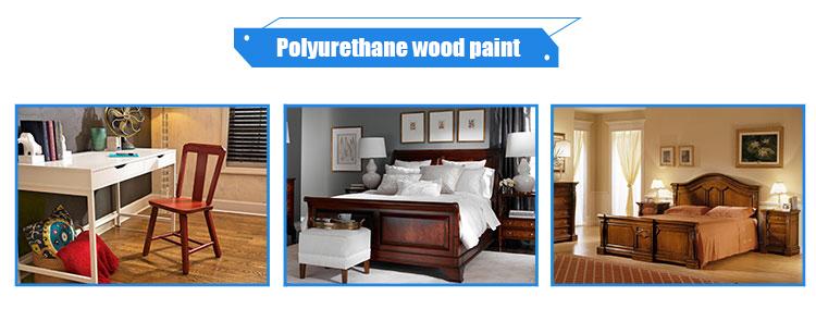 PU wood paint