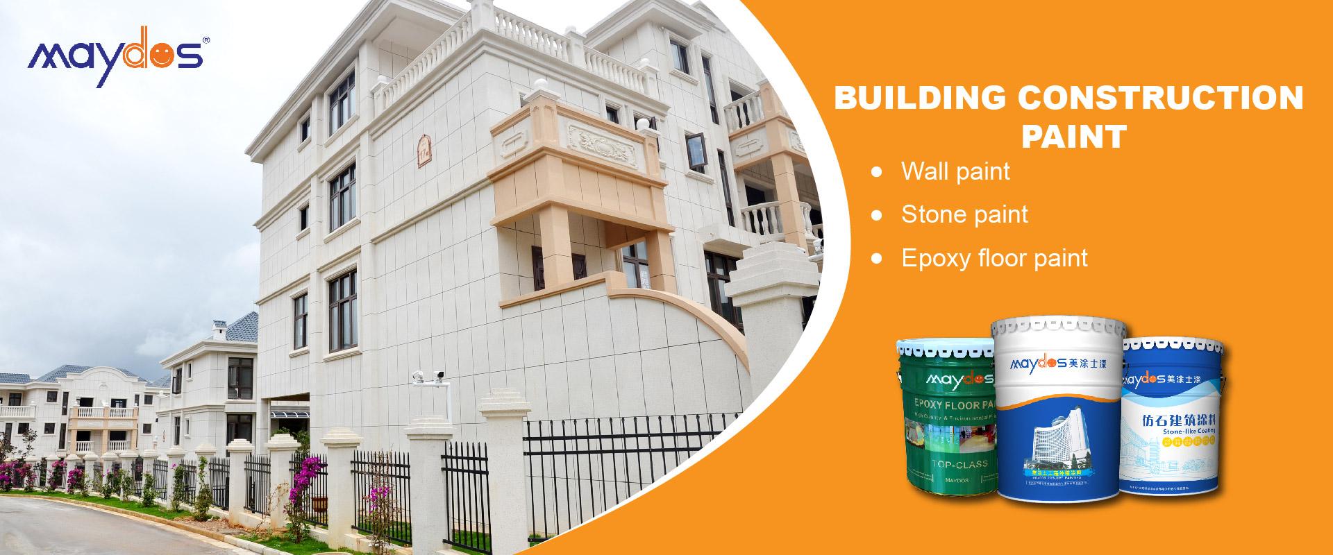 building construction paint-banner