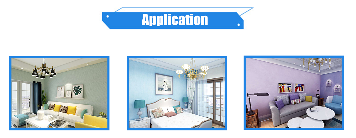 aplikasi cat dekoratif