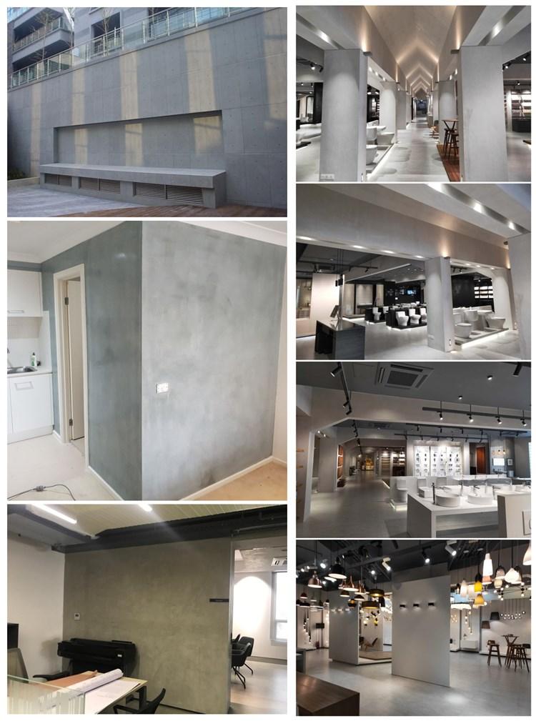 Wall decor plasters