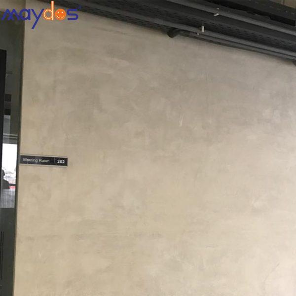 طلاء الجدار الخرساني المصقول