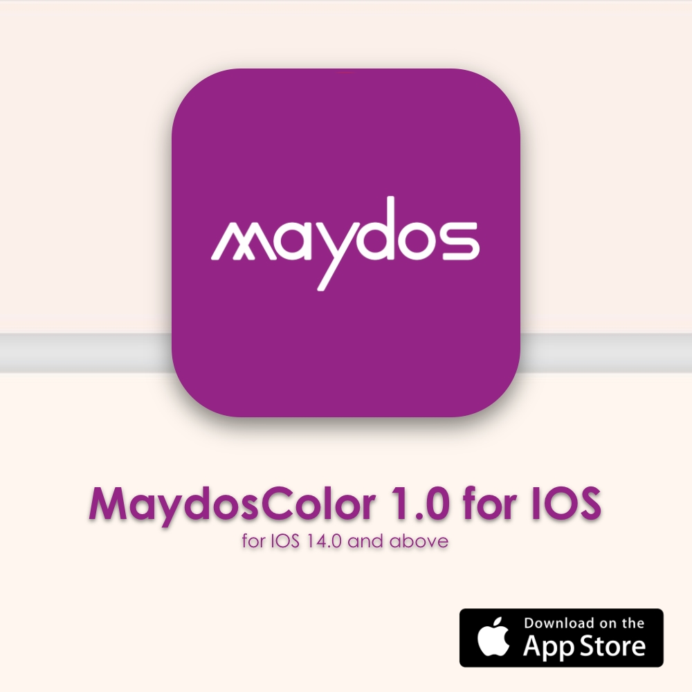Maydos Color chart
